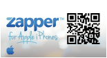 Zapper QR Code Scanning App For iPhone